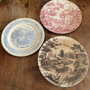 Πιάτα Συλλογή Επώνυμα Αγγλίας Vintage