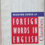Making Sense of Foreign Words in English