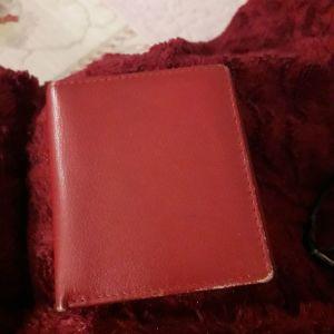 Δερμάτινο μικρό πορτοφόλι