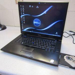 """DELL LATITUDE e6500/15.6""""FHD+/BUSINESS/CORE 2DUO-2.6GHZ/NVIDIA QUADRO 160M/RAM4GB/HDD120GB"""