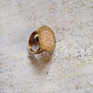 Δαχτυλίδι  με την χαρακτική ζώδια.
