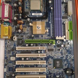 Μητρική GA-8S648FX s478 με CPU