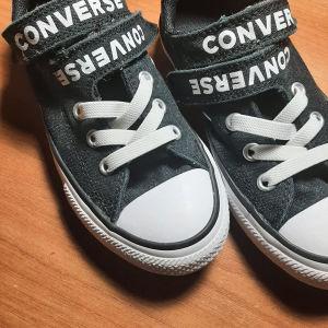 """παπούτσια παιδικά """"converse all stars"""". νούμερο :29(uk 11.5)"""