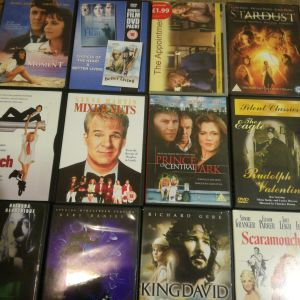 25 Ταινίες DVD χωρίς ελληνικούς υπότιτλους