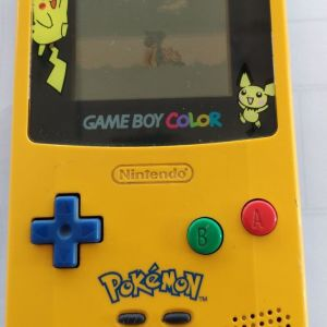 Nintendo Gameboy Color Light Pokemon Limited Edition Pikachu