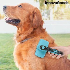 Βούρτσα Καθαρισμού Κατοικίδιων Ζώων με Αναδιπλούμενες Ακίδες Groombot InnovaGoods