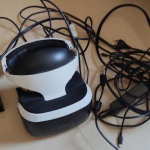 VR HEADSET + CD VR WORLDS με κουτί για την κασέτα