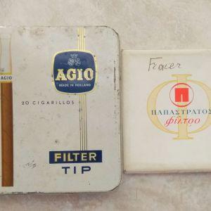 Παπαστράτος τσιγάρα με θηκη Agio