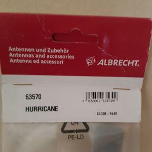 κεραία Albrecht 63570 Hurricane
