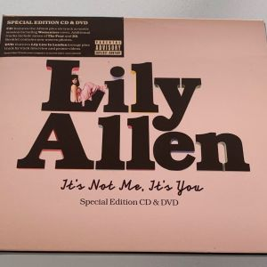 Lily Allen - It's not me, it's you special edition cd + dvd