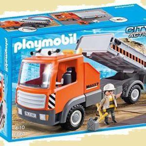 Playmobil Ανατρεπόμενο Φορτηγό