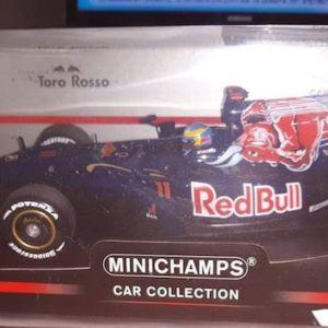 F1 TORO ROSSO STR4 2009 - S.BOURDAIS #11 / MINICHAMPS / 1:18 / DIECAST
