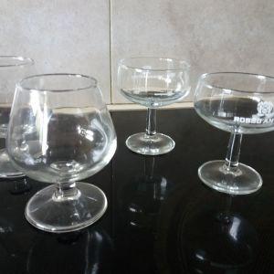 24 Ποτήρια σαμπάνιας και κονιάκ