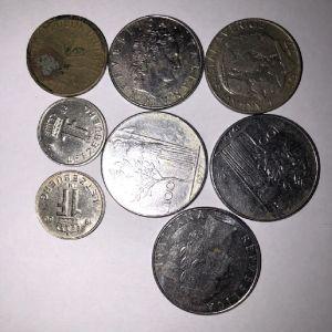 Νομίσματα από Ιταλία, Λουξεμβούργο και Ολλανδία