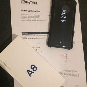 Samsung Galaxy A8 (ΜΕ ΕΓΓΥΗΣΗ + ΔΩΡΟ ΘΗΚΗ ΚΑΙ ΤΖΑΜΑΚΙ)
