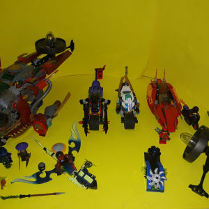 Lego ninjago 4 σετ