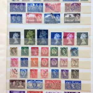 Αλμπουμ διαφορετικων γραμματοσημων Αγγλιας απο το 1900