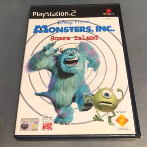 PS2 Game -MONSTERS SCARE ISLAND