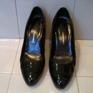 Παπούτσια Καλογήρου μαύρα