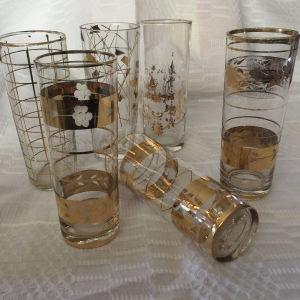 Χειροποίητα ποτηράκια vintage
