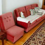 Καναπές αχρησιμοποίητος vintage (3 θέσεων)
