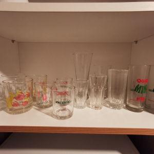 διαφορά ποτήρια για συλλογή