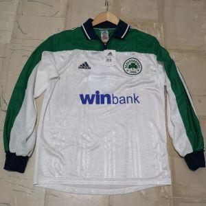 Panathinaikos 2000/01 away jersey #9 Warzycha
