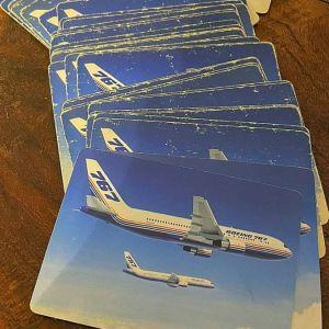 Τράπουλα Boeing 767 Vintage