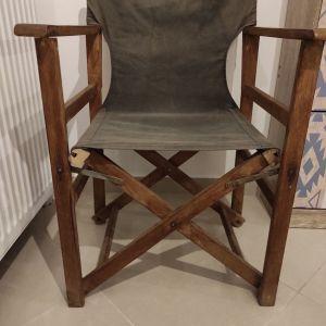 Καρέκλα σκηνοθέτη μασιφ