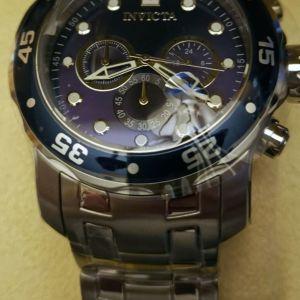 Invicta  ρολόι καταδυτικό Καινούργιο, Χρονογράφος. Pro Diver 0070