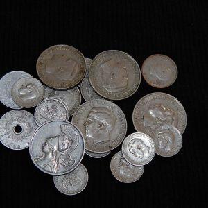 LOT με Ελληνικά νομίσματα