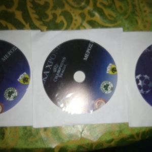 DVD ΕΛΛΗΝΙΚΕΣ ΟΜΑΔΕΣ ΣΤΟ CHAMPIONS LEAGUE 1994-2004 3 DVD