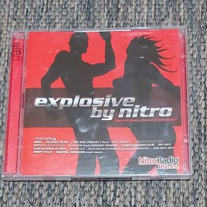 EXPLOSIVE BY NITRO - THE ULTIMATE DANCE EXPERIENCE ( 2CDs ) 2003 MADE IN GREECE