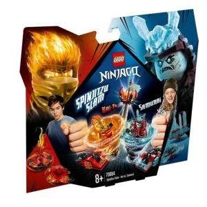 LEGO Ninjago Spinjitzu Slam - Kai vs Samurai 70684