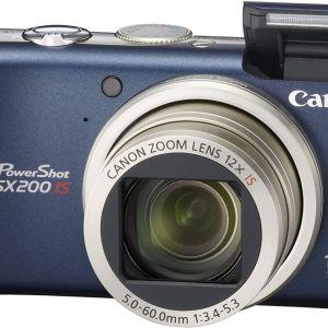 Canon PowerShot SX200 IS - Ψηφιακή φωτογραφική μηχανή - Μπλέ