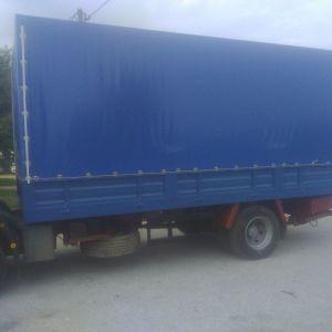 Μουσαμαδες φορτηγών