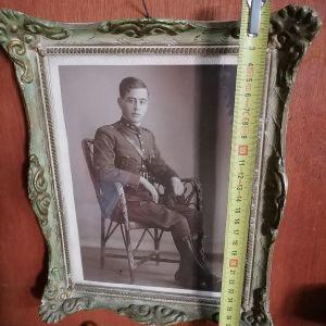 παλιά φωτογραφία αξιωματικου