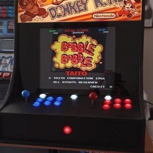 Arcade καμπίνα,     πολυπαιχνιδο   retro   παιχνίδι με κέρμα