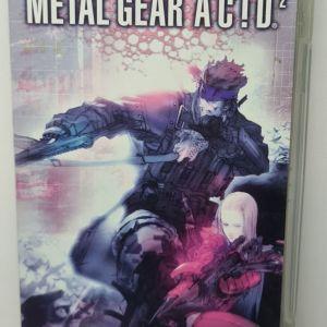 PSP METAL GEAR AC!D2 USED