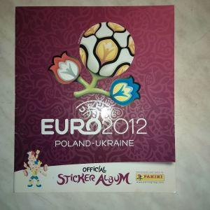PANINI album EURO 2012 POLAND-UKRAINE