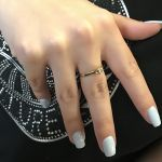 Δαχτυλιδι μονόπετρο vintage με Μπριγιαν