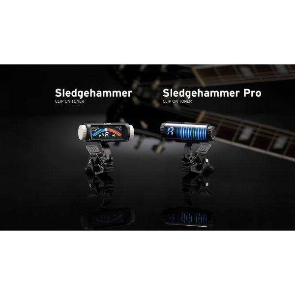 Korg Sledgehammer SH-G1 Clip-On chromatiko kourdistiri gia kithara & mpaso