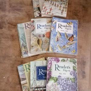 8 τεύχη Readers Digest 1958
