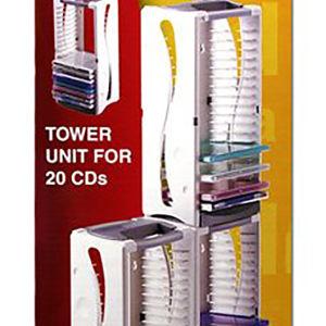 Πύργος αποθήκευσης 20 CD-DVD