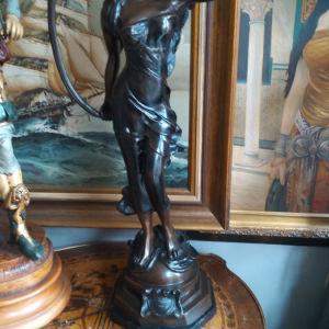 γαλλικό μπρούτζινο άγαλμα