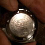Πωλείται το πολύ καλό αυτόματο ρολόι χειρός citizen 21 jewels automatic 51-0718