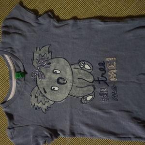 benetton μπλουζα για 3-4χρ
