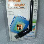 Ασυρματη Καρτα Δικτυου USB 150 MBPS με Κεραια