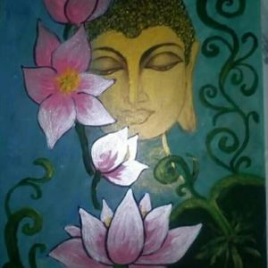 Βούδας με νούφαρα