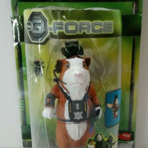 DICKIE TOYS G-FORCE DISNEY DARWIN FIGURE WITH HAND GUN AND FLY